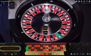 Double Ball Roulette offer version of the table game where two balls are put into play.