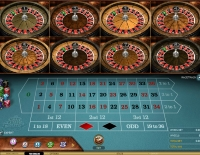 Multi Wheel Roulette by Microgaming where you can play roulette with 8 wheels instead of one