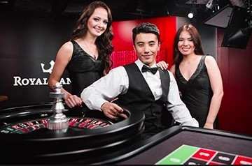Royal Panda offers one of the biggest collection of live dealer casino games