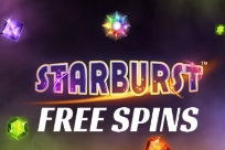 New Customers of Royal Panda can enjoy 10 free spins on the Starburst slot machine game.